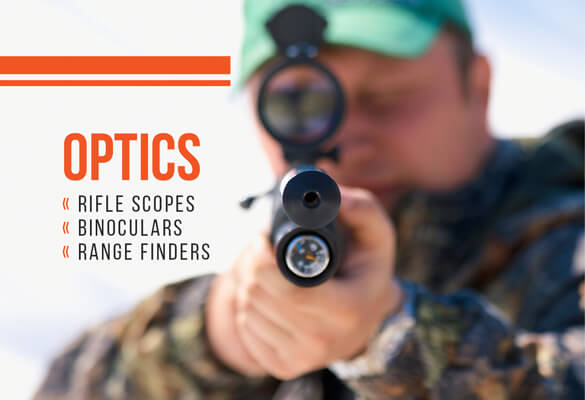 Hunting Optics, Riflescopes, Binoculars and Rangefinders