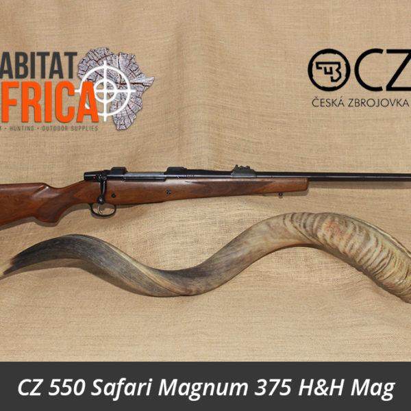 CZ 550 Safari Magnum 375 Holland & Holland Magnum Rifle
