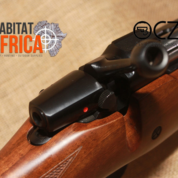 CZ 550 Safari Magnum 375 Holland & Holland Magnum Rifle Safety
