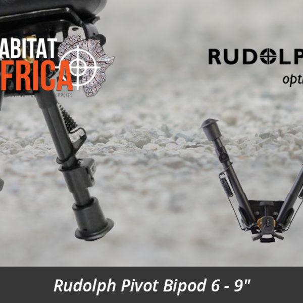 """Rudolph Pivot Bipod 6 - 9"""" - Rudolph Pivot Bipods"""