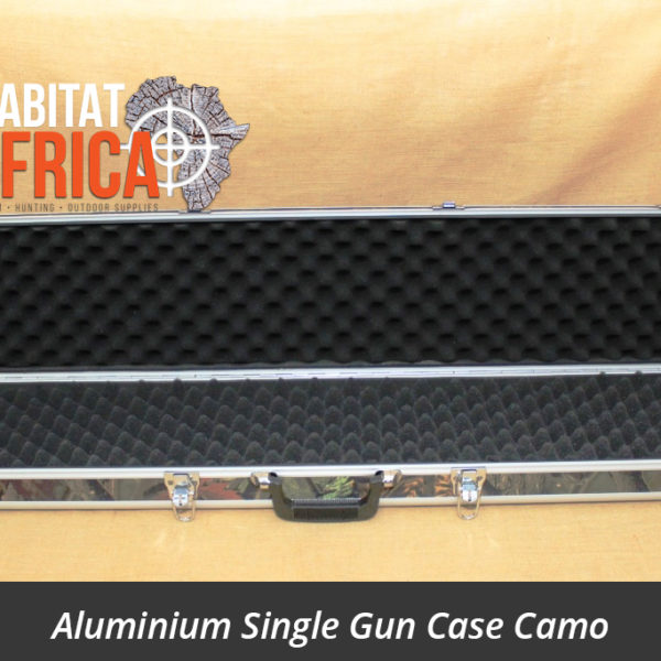 Aluminium Single Gun Case Camo