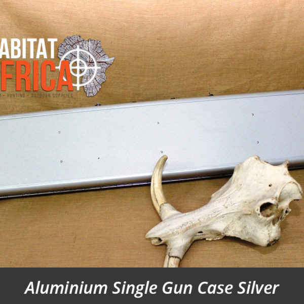 Aluminium Single Gun Case Silver