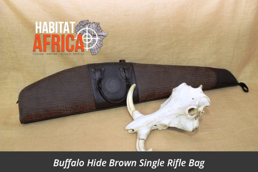 Buffalo Hide Single Rifle Bag Brown