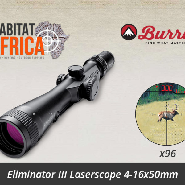 Burris Eliminator III 4-16x50mm LaserScope
