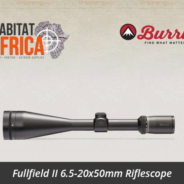 Fullfield II 6.5-20x50mm Riflescope