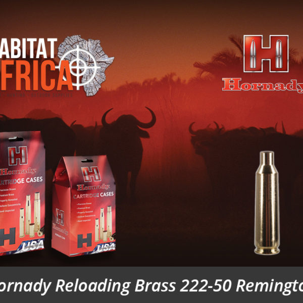 Hornady Reloading Brass 222-50 Remington