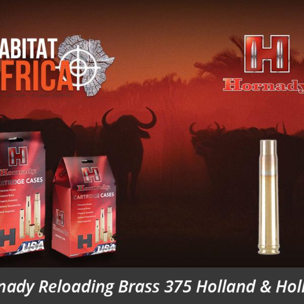 Hornady Reloading Brass 375 Holland & Holland