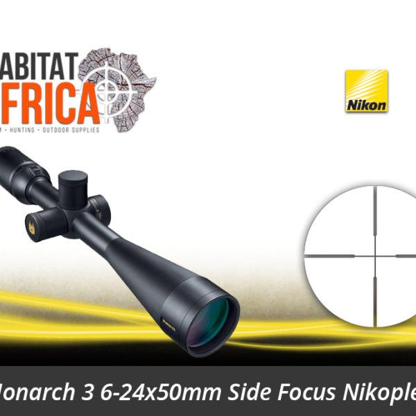 Nikon Monarch 3 6-24x50 Riflescope