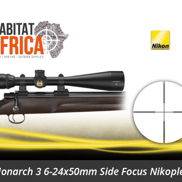 Nikon Monarch 3 6-24x50mm Side Focus Nikoplex