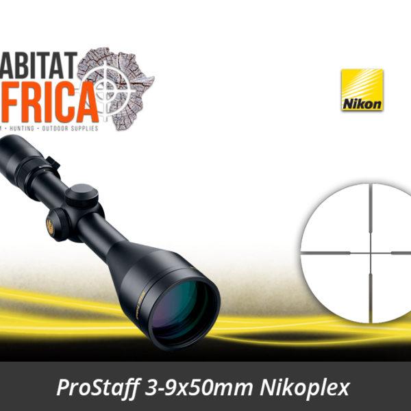 Nikon ProStaff 3-9x50 Riflescope