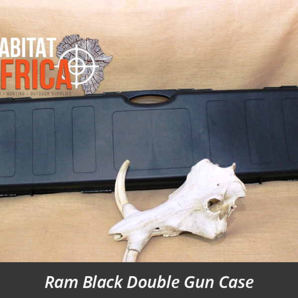 Ram Double Gun Case Black
