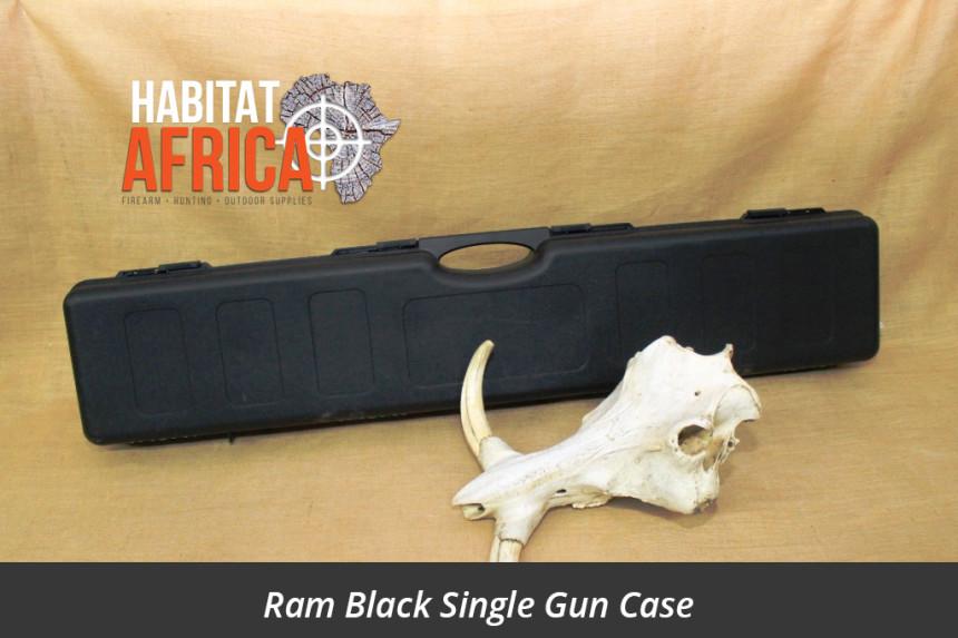 Ram Single Gun Case Black