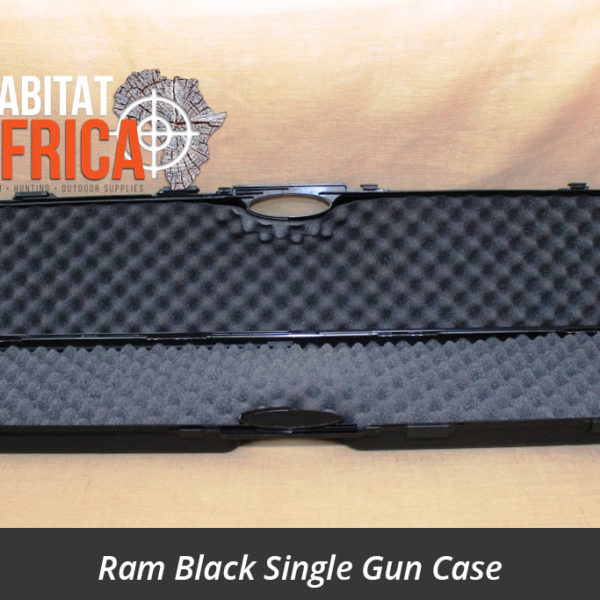 Ram Single Gun Case Black