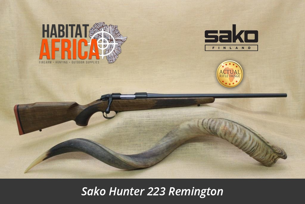 Sako 85 Hunter Blued In 223 Remington Habitat Africa
