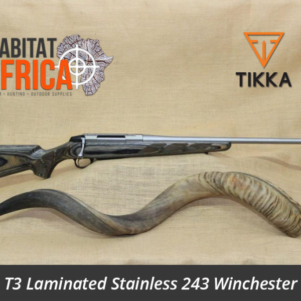 Tikka T3 243 Winchester Laminated Stainless