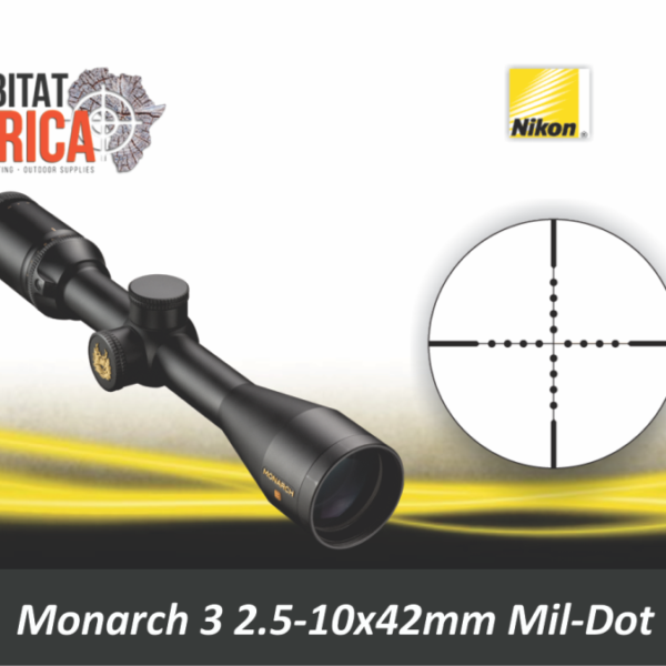 Nikon Monarch 3 2.5-10x42 Riflescope