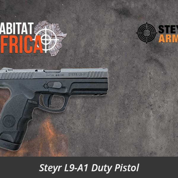 Steyr L9-A1 Duty Pistol