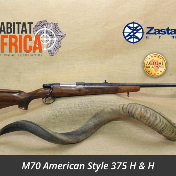 Zastava Sporting Rifle M70 American Style 375 H & H