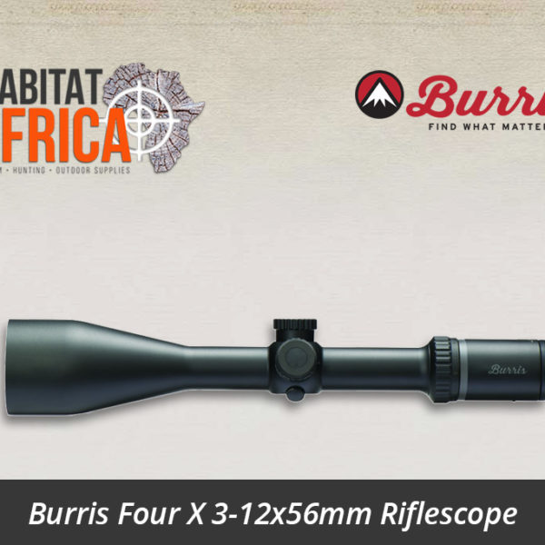 Burris Four X 3-12x56mm Riflescope Side View