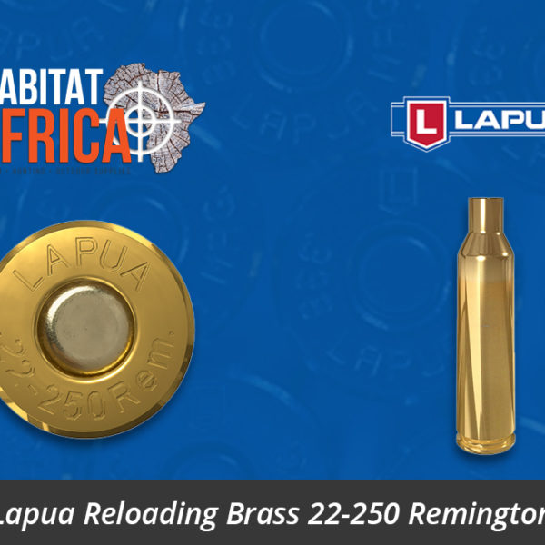 Lapua Reloading Brass 22-250 Remington