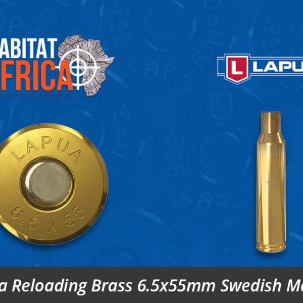 Lapua Reloading Brass 6.5x55mm Swedish Mauser