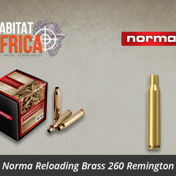 Norma Reloading Brass 260 Remington