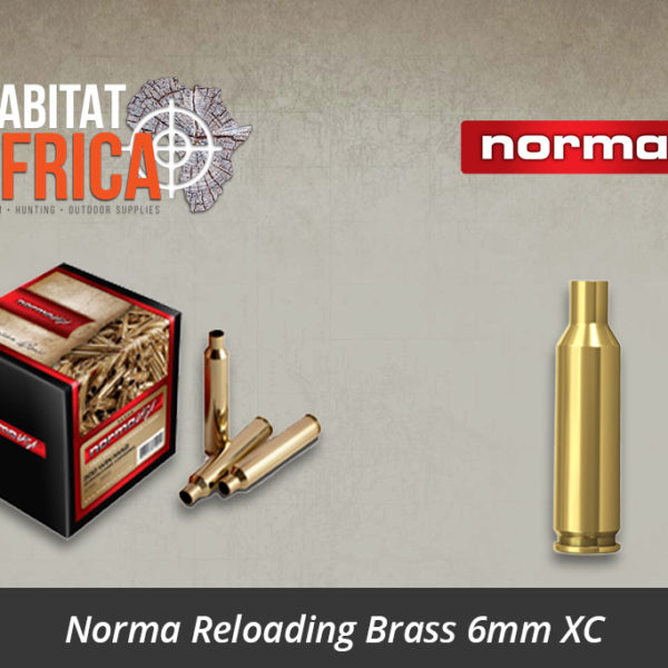 Norma Reloading Brass 6mm XC