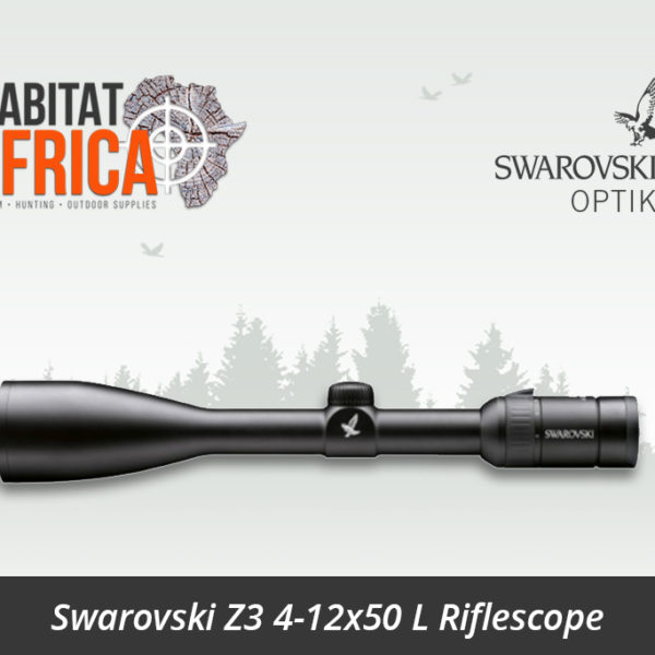 Swarovski Z3 4-12x50 L Riflescope BRH Reticle