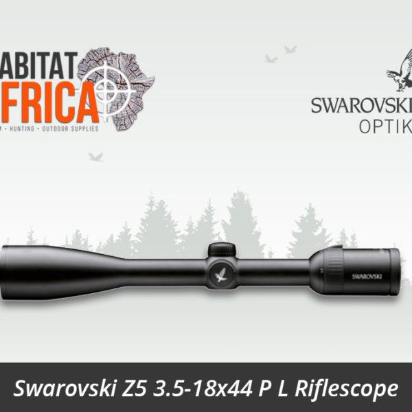 Swarovski Z5 3.5 18x44 P L Riflescope BRH Reticle