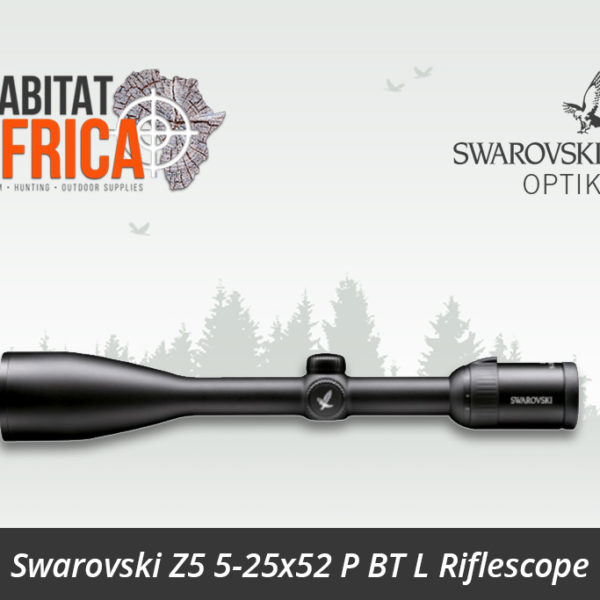 Swarovski Z5 5-25x52 P BT L Riflescope Plex Reticle