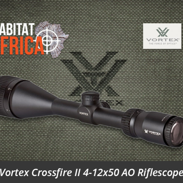 Vortex Crossfire II 4-12x50 AO Riflescope Dead-Hold BDC MOA Reticle Optic