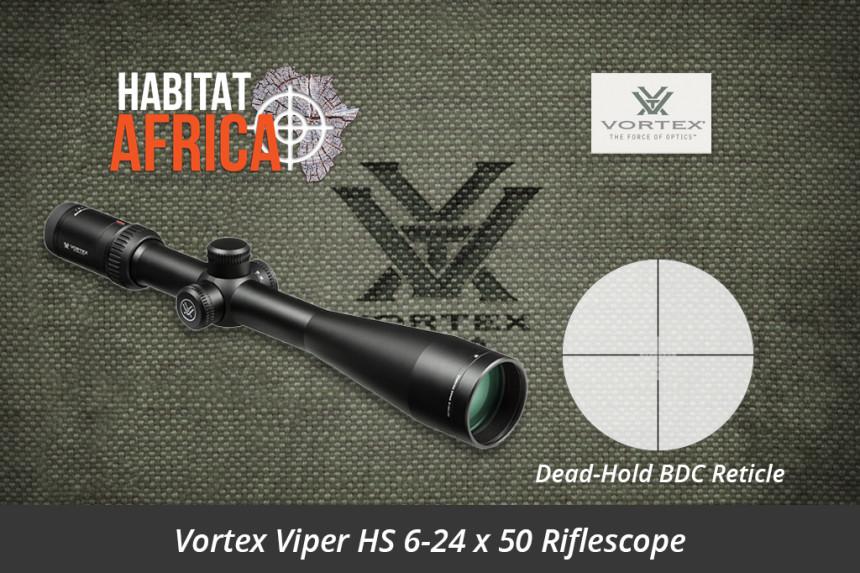 Vortex Viper Hs 6 24x50 Riflescope Dead Hold Bdc Moa