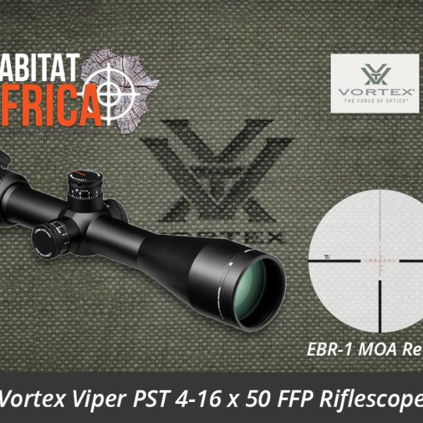 Vortex Viper PST 4-16 x 50 FFP Riflescope