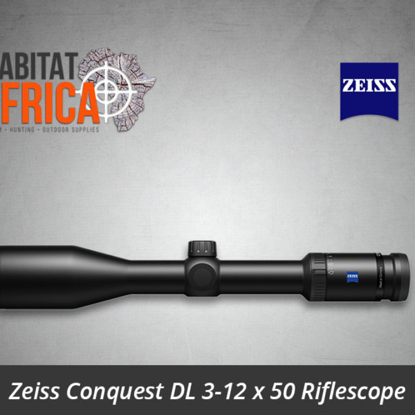 Zeiss Conquest DL 3-12 x 50 Riflescope Reticle 6 - Non-Illuminated Side View