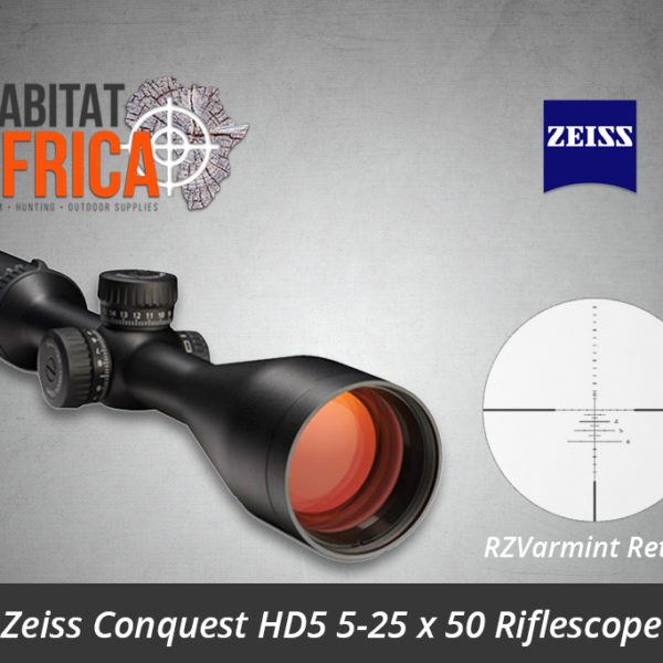 Zeiss Conquest HD5 5-25x50 Riflescope