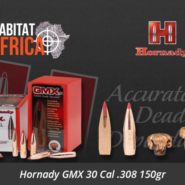Hornady GMX 30 Cal .308 150gr
