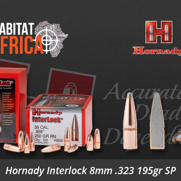 Hornady Interlock 8mm 323 195gr SP