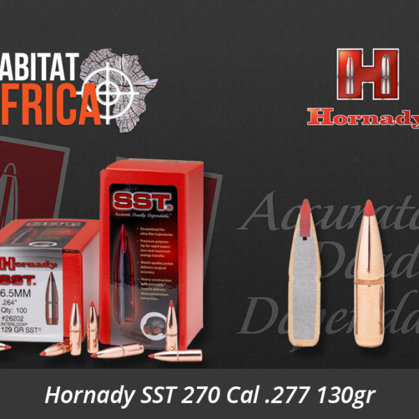 Hornady SST 270 Cal .277 130gr