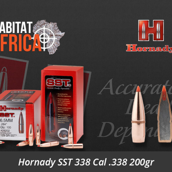 Hornady SST 338 Cal .338 200gr