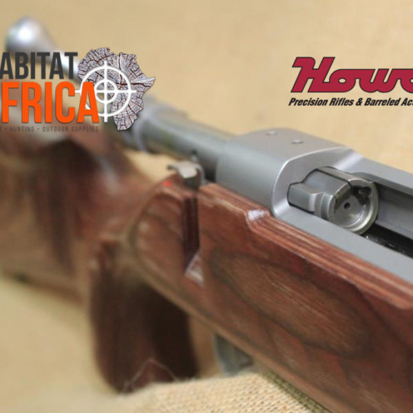 Howa EuroVarmint in Nutmeg Laminate with Stainless Steel Bolt Action