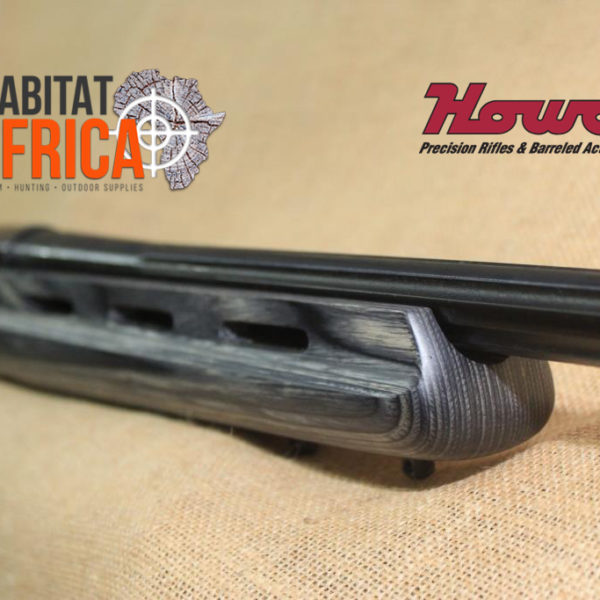 Howa EuroVarmint in Pepper Laminate Blued Barrel