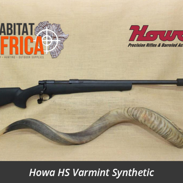 Howa HS Varmint Synthetic Hunting Rifle