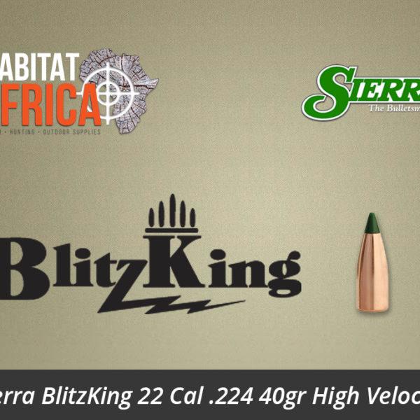 Sierra BlitzKing 22 Cal .224 40gr High Velocity