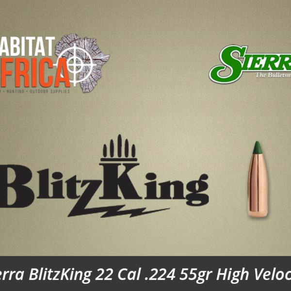 Sierra BlitzKing 22 Cal .224 55gr High Velocity