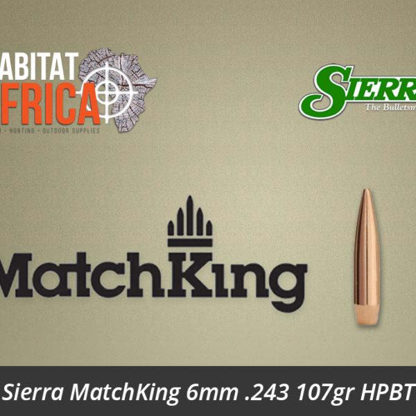 Sierra MatchKing 6mm .243 107gr HPBT