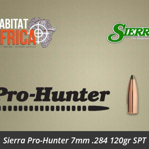Sierra Pro-Hunter 7mm .284 120gr SPT