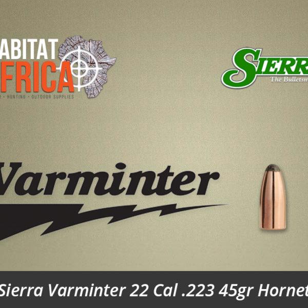 Sierra Varminter 22 Cal .223 45gr Hornet