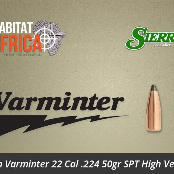 Sierra Varminter 22 Cal .224 50gr SPT High Velocity