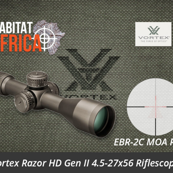 Vortex Razor HD Gen II 4.5-27x56 Riflescope EBR-2C MOA Reticle