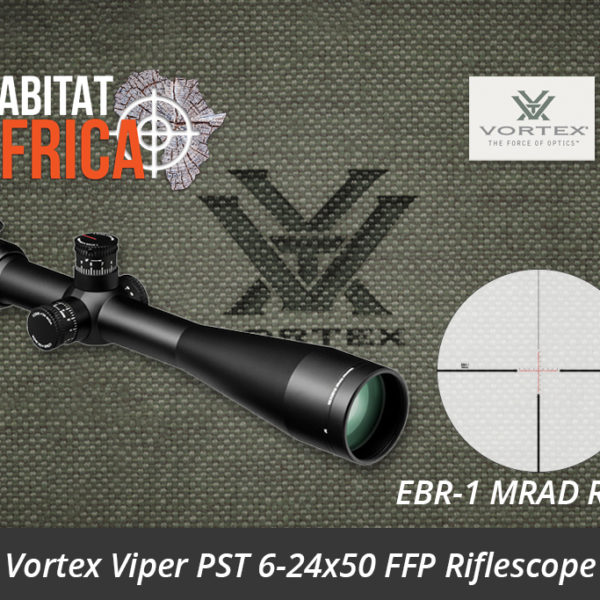 Vortex Viper PST 6-24x50 FFP Riflescope EBR-1 MRAD Reticle